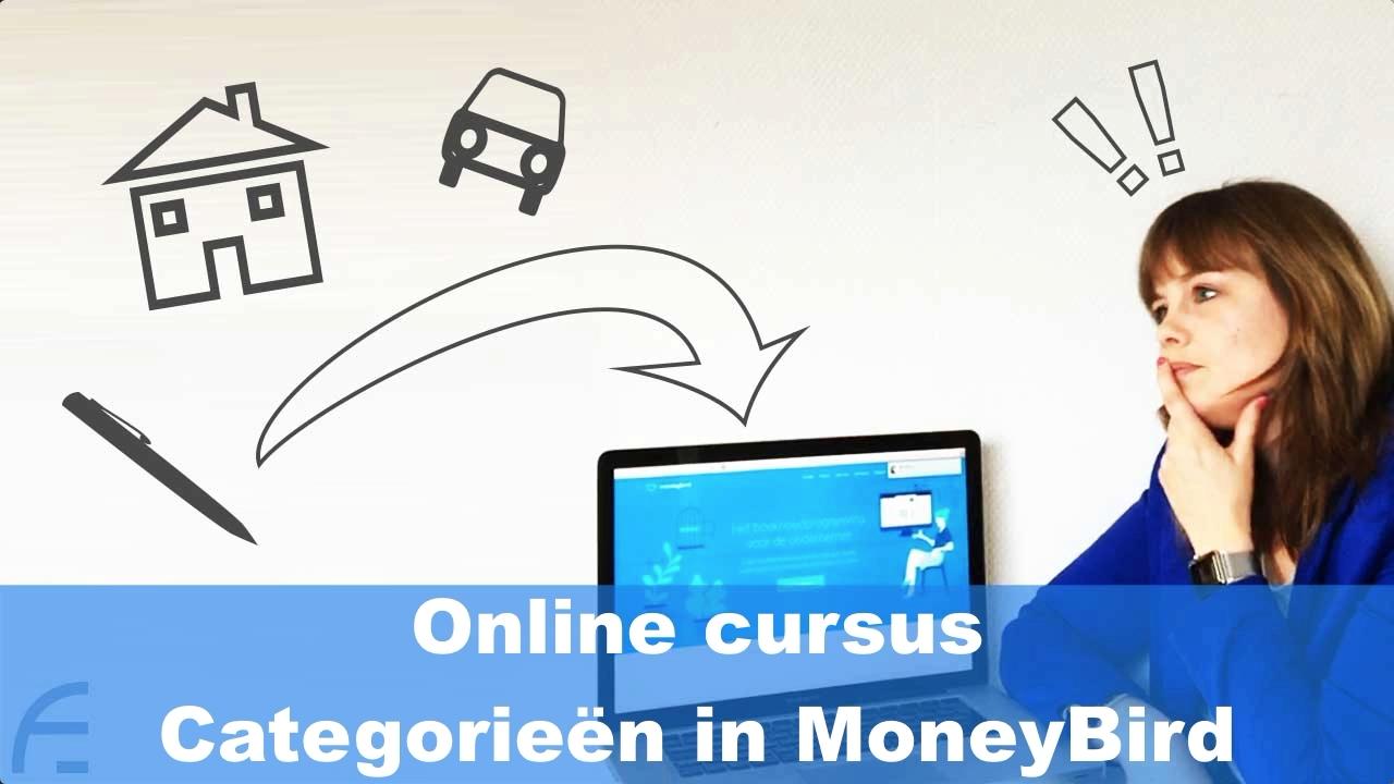 Online cursus categorieën in MoneyBird